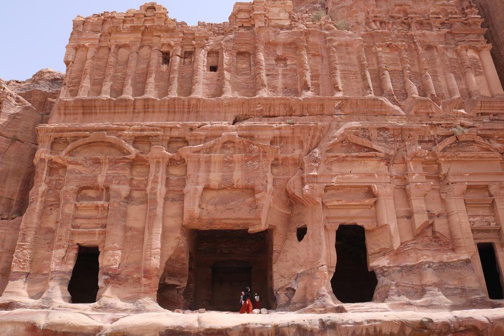 un itinéraire en Jordanie en passant par Pétra