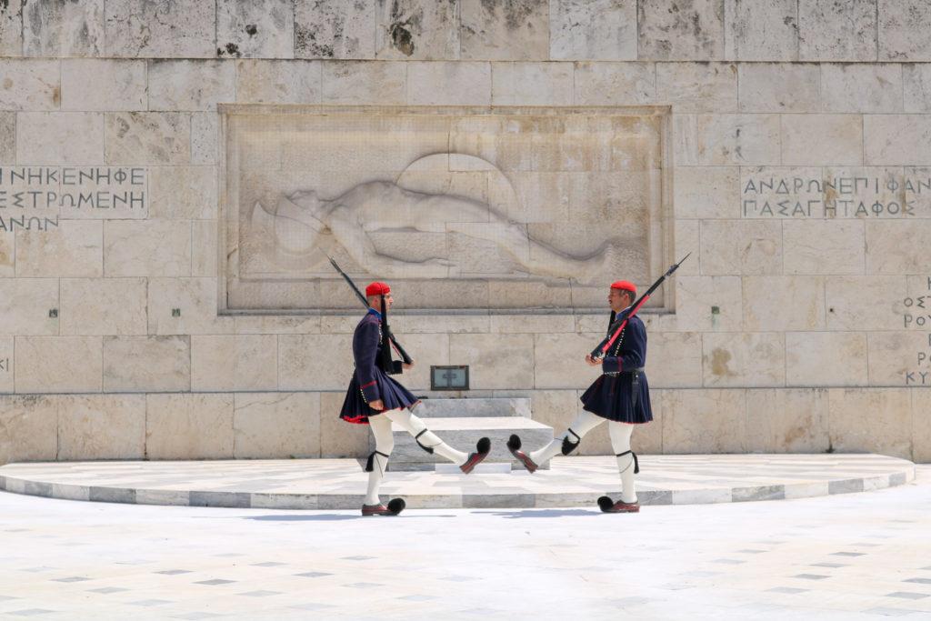 Visiter Athènes en une journée - Place Syntagma