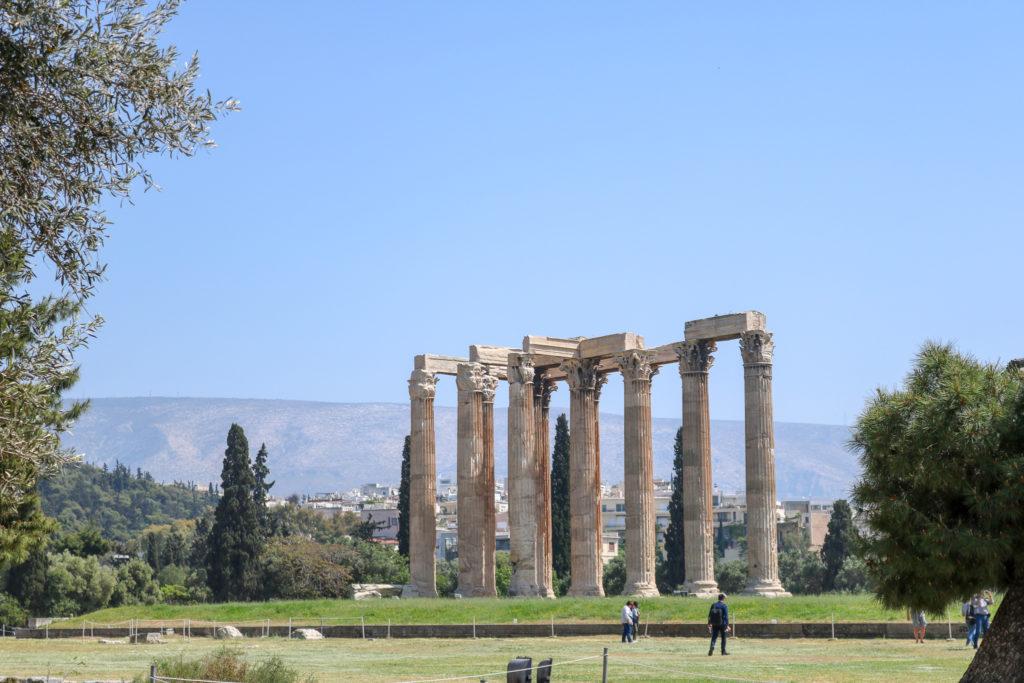 Que voir à Athènes en une journée ? L'olympiéion