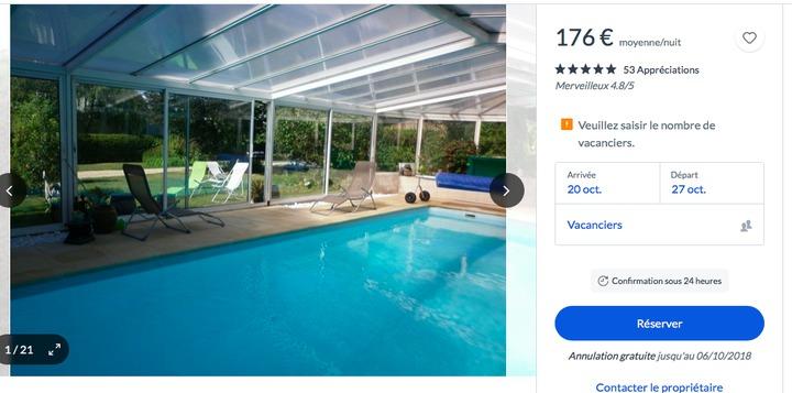 Louer une maison avec piscine privée et chauffée pas loin de Paris