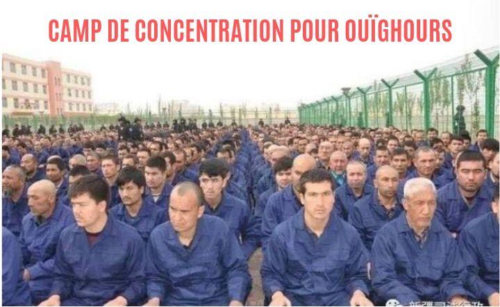 camp de reeducation pour ouighours