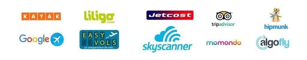 Comparateurs de vols pour trouver un billet d'avion pas cher