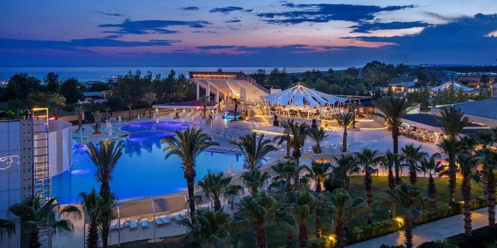 Resort complexe hôtelier sans alcool