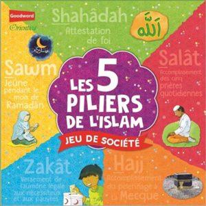 Les 5 piliers de l'islam jeu de société